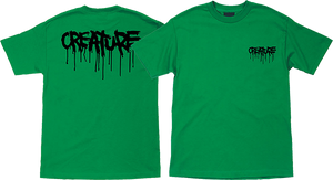 CREATURE BLOOD SS L-KELLY GREEN