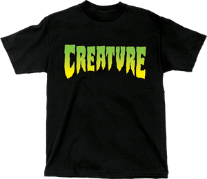 CREATURE LOGO SS XL-BLACK
