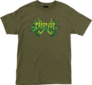 CREATURE OG KUSH SS S-MILITARY GREEN