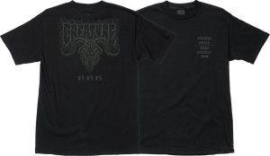 CREATURE STAAG SS M-BLACK