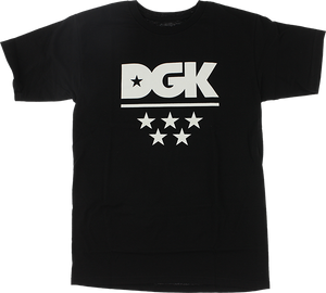 DGK ALL STAR SS XL-BLACK/WHT