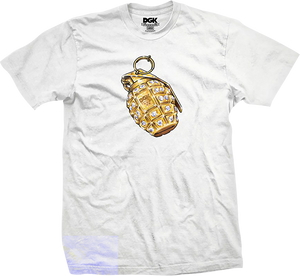 DGK BLOWIN UP SS XL-WHITE