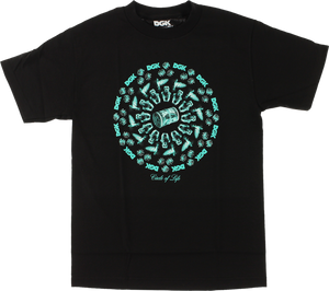 DGK CIRCLE OF LIFE SS S-BLACK