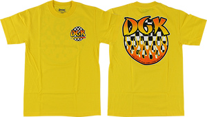 DGK GHETTO FIRE SS XL-YELLOW