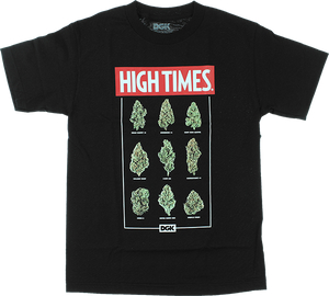 DGK HIGH TIMES FIRE SS S-BLACK