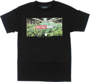 DGK HIGH TIMES GROW ROOM SS S-BLACK