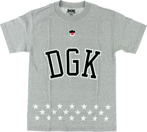DGK LIBERTY SS S-ATHLETIC HEATHER