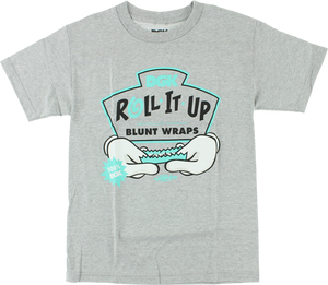 DGK ROLL IT UP SS S-ATHLETIC HEATHER