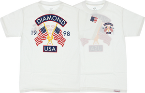 DIAMOND DIAMOND USA SS M-WHITE