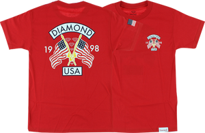 DIAMOND DIAMOND USA SS L-RED