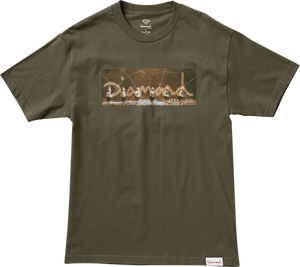DIAMOND GONE FISHING SS M-MILITARY GREEN