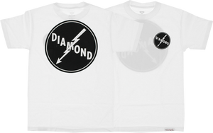 DIAMOND SUPPLY CO. LIGHTNING SS S-WHITE