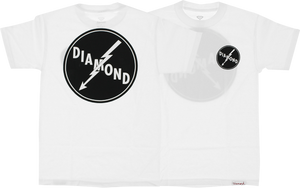 DIAMOND SUPPLY CO. LIGHTNING SS XXL-WHITE
