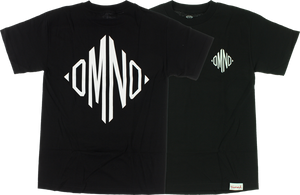DIAMOND MONOGRAM SS M-BLACK