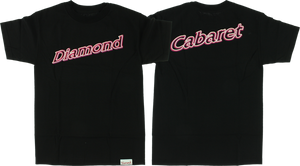 DIAMOND NEON SCRIPT SS XL-BLACK