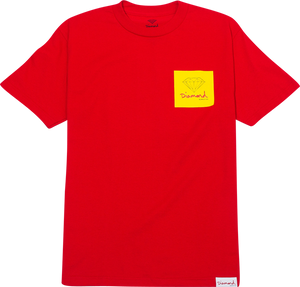 DIAMOND OG SIGN SS XXL-RED