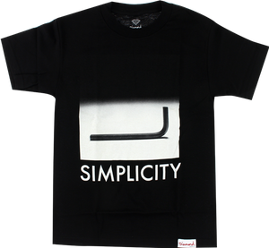 DIAMOND SIMPLICITY SS M-BLACK