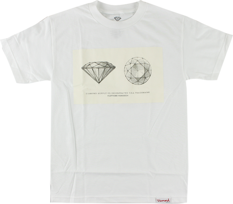 DIAMOND TRADEMARK SS M-WHITE