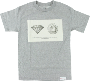 DIAMOND TRADEMARK SS XL-HEATHER GREY