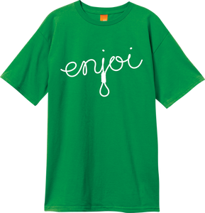 ENJ SCRIPT SS XL-KELLY GREEN