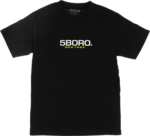 5BORONYC EXT LOGO SS XL-BLACK