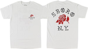 5BORONYC ROSE SS XL-WHITE