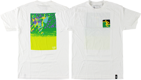 GIRL FUTBOL SS XL-WHITE