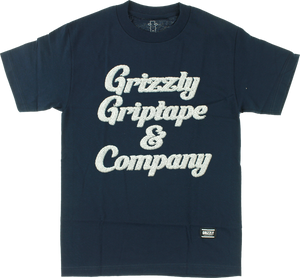GRIZZLY GRIZZLY & CO SS M-NAVY