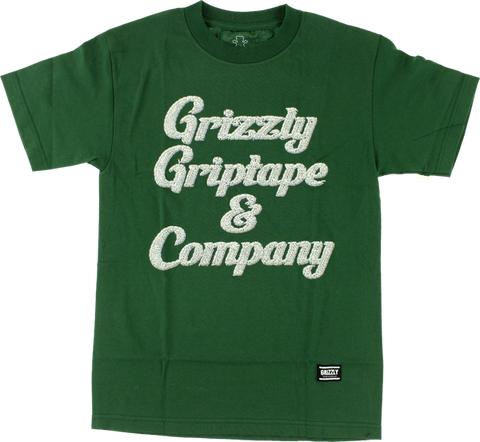 GRIZZLY GRIZZLY & CO SS M-HUNTER GRN