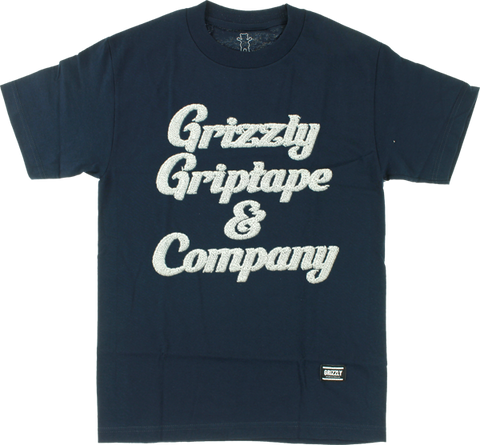 GRIZZLY GRIZZLY & CO SS L-NAVY