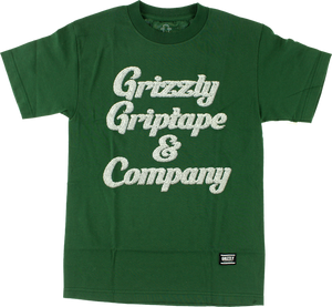 GRIZZLY GRIZZLY & CO SS XL-HUNTER GRN
