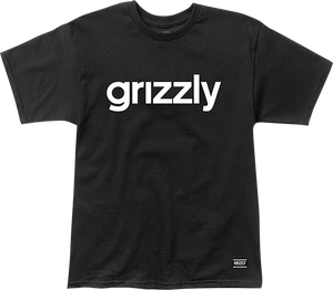 GRIZZLY GRIPTAPE LOWERCASE SS XL-BLACK