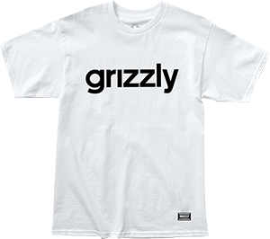 GRIZZLY GRIPTAPE LOWERCASE SS XL-WHITE