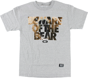 GRIZZLY PREDATORY ATTACK SS M-HEATHER GREY