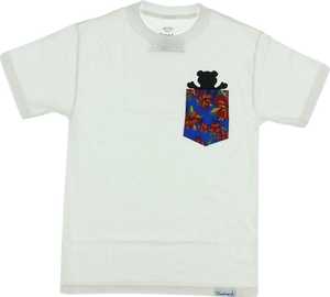 GRIZZLY TROPICAL HIGH POCKET SS XXL-WHITE