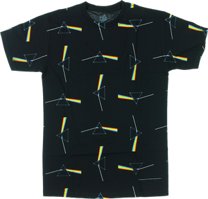 HAB/PINK FLOYD DARK SIDE ALL OVER PRINT SS XL-BLK