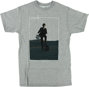 HAB/PINK FLOYD INVISIBLE MAN SS M-HEATHER GREY