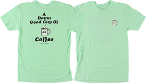 HABITAT/TWIN PEAKS DAMN GOOD COFFEE SS XL-AQUA