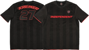INDEPENDENT KREMER LTD JERSEY SS L-BLACK/RED