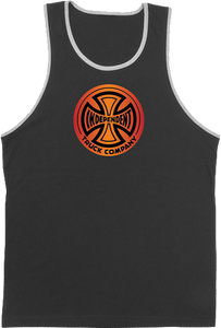 INDE FOUNTAIN T/C TANK TOP S-BLACK