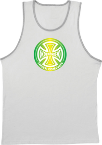 INDE FOUNTAIN T/C TANK TOP S-WHITE