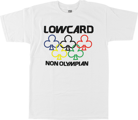 LOWCARD NON OLYMPIAN SS M-WHITE