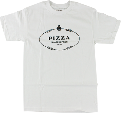 PIZZA COUTURE SS M-WHITE