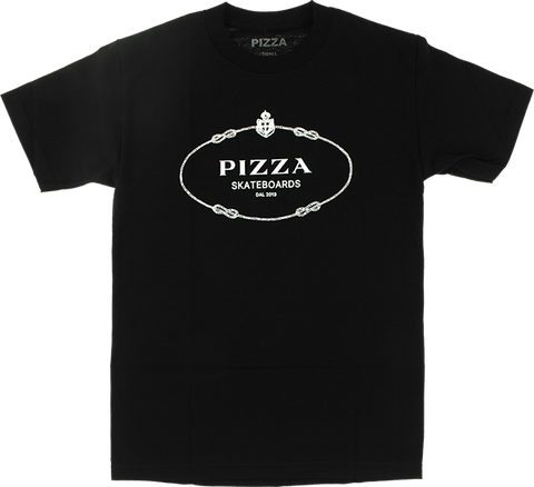 PIZZA COUTURE SS L-BLACK