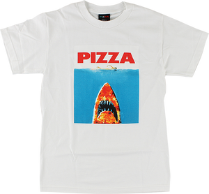 PIZZA SHARK SS M-WHITE