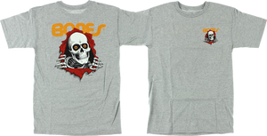 PWL/P RIPPER SS S-HEATHER GREY