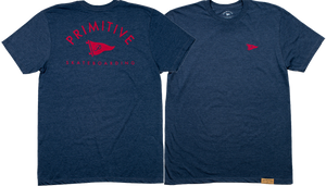 PRIMITIVE ARCH PENNANT SS XL-NAVY HEATHER