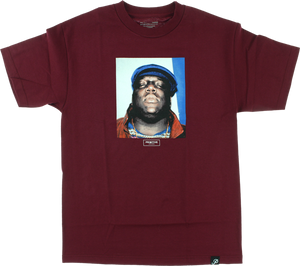 PRIMITIVE BIGGIE NOTORIOUS SS M-BURGUNDY