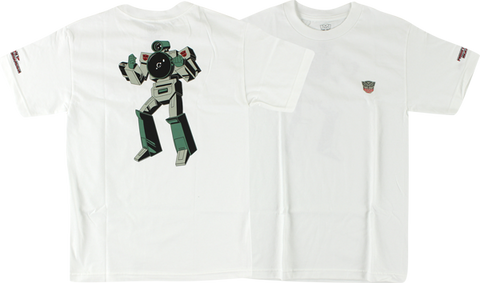 PRIMITIVE TRANSFORMERS VX SS XL-WHITE