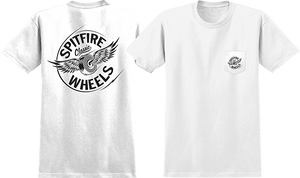 SPITFIRE FLYING CLASSIC POCKET SS S-WHITE